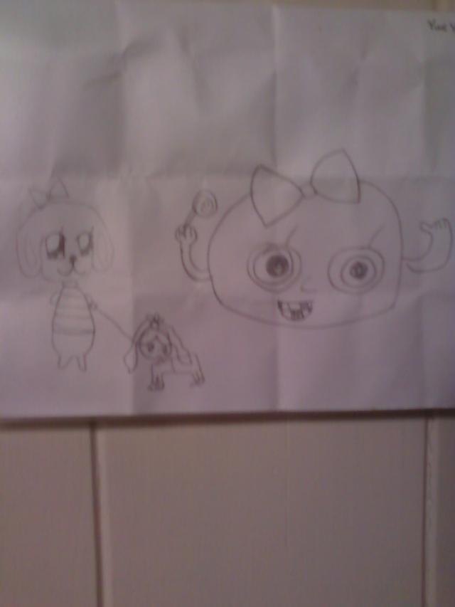 Yuna's Drawing