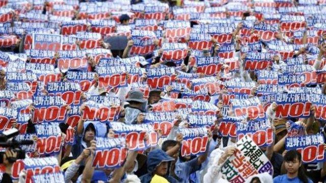 okinawa protest henoko
